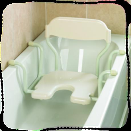 si ge de bain suspendu avec dossier days au comptoir du. Black Bedroom Furniture Sets. Home Design Ideas
