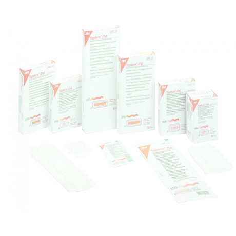 Pansement film transparent semi-perméable 3M™ Tegaderm™ + Pad*