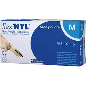 Gants d'examen vinyle Flexynil