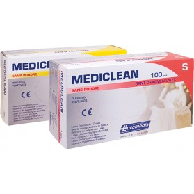 Gants latex Mediclean