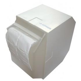 Tampons ouate de cellulose / Le dérouleur plastique.