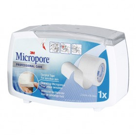 Sparadrap microporeux hypoallergénique 3M™ Micropore™*