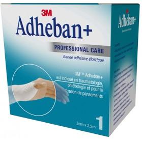 Bande élastique adhésive 3M™ Adheban Plus*