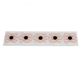 Electrodes prégélifiées mousse contact carbone à pression